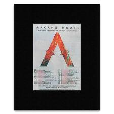 ARCANE ROOTS - UK Tour 2015 Matted Mini Poster