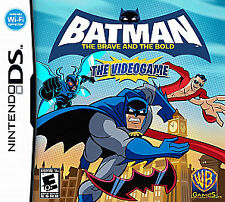 NEW Nintendo DS Batman : The Brave and the Bold Factory Sealed Free Shipping !