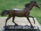 HUGE SIGNED MENE PURE BRONZE HORSE STATUE SCUPLTURE