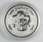 2000 Australia Lunar 1 oz .999 Silver Year of the Dragon $1 Dollar Coin