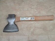Vintage Shapleigh Hardware Diamond Edge Hewing Axe Hatchet -Hand Made