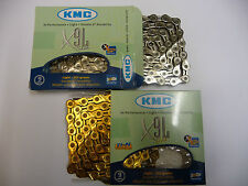 KMC X9-L X Light 9 Speed MTB Mountain Bike Road Bicycle Chain Gold SIlver X9L