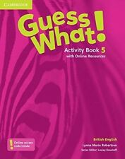 Guess What! Level 5 Activity Book with Online Resources British English, Roberts