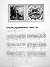 Print Some The Less-Known Liverpool Transfer Tiles 2 Pages 1927 28Q178 Old Origi