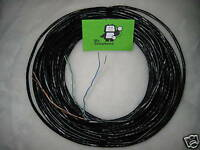 10m Black 3 Pair External Telephone Cable, Extension