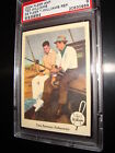 2004 FLEER #67 TED WILLIAMS w/SAMMY SNEAD 1959 REPRINT 249/406 psa 9  RED SOX