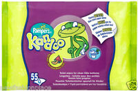 Pampers Kandoo REFILL PACK  55 X 18 = 990 Flushable Toilet Wipes