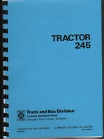 "Leyland ""245"" Tractor Operator Manual Book"