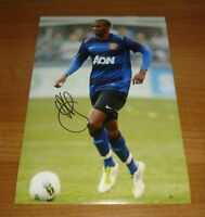 ASHLEY YOUNG HAND SIGNED 12x8 PHOTO MANCHESTER UNITED