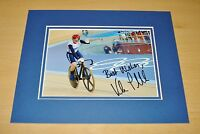 VICTORIA PENDLETON HAND SIGNED 10x8 PHOTO MOUNT DISPLAY OLYMPIC CYCLING + COA