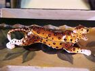 LEOPARD ENAMELED JEWELED  BOX AND MATCHING NECKLACE 62327