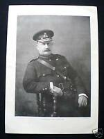 OLD PAGE - GENERAL CHARLES E KNOX BOER WAR SOLDIER 1900