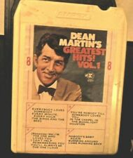 """DEAN MARTIN """"THE BEST OF"""" 8 TRACK TAPE"""