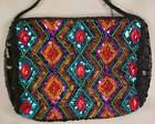 COLORFUL BEADED EVENING PURSE New w Tags