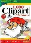 1000 Christmas Clipart Clip Art - Greeting Cards PC NEW