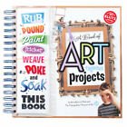 A BOOK OF ART-RAGEOUS PROJECTS FUN KIDS KLUTZ ART BOOK & ACTIVITY KIT