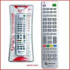 REMOTE CONTROL UNIVERSAL 8 IN1 INFRA RED - BRAND NEW