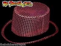 Sequin Top Hat Christmas Fancy Dress Ring Master Circus
