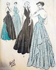 SEWING PATTERN DATE CHARTS 1939 - 1940s VOGUE ADVANCE +