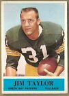 JIM TAYLOR 1964 64 PHILADELPHIA CARD #80  --  PACKERS *