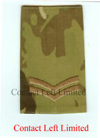 New Official Crye Multicam MTP Corporal RANK SLIDE