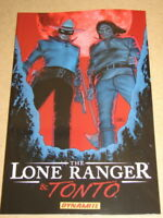 THE LONE RANGER & TONTO - DYNAMITE SOFTCOVER GRAPHIC NOVEL