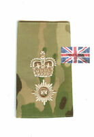2 Multicam Lieutenant Colonel Irish Guards RANK SLIDES