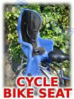 Cycle Bike Rear Child Baby Seat NEW Grey or Blue