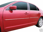 For: FORD FUSION Painted Body Side Mouldings With Chrome Insert Trim 2010-2012