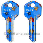 2 Color House Key Blanks KW1 for Kwikset - Daisy