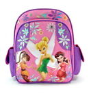 """Disney TINKERBELL TINK TINKER BELL FAIRIES TODDLER 12"""" BACKPACK Tote Bag NEW!"""
