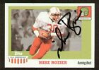 Mike Rozier signed 2005 Topps All American Trading Card