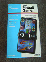 SHAKY PINBALL RARE RADIO LCD HANDHELD GAME VIBRATES FULLY WORKING FROM THE 1980s