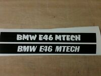"""1 PAIR """"YOUR NAME"""" BMW 320d 3RD BRAKE LIGHT STICKER/OVERLAY-BUY NOW-LOOK AWSOME"""