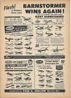 1951 Guillow Model Aircraft Ad/ Compelte Line up