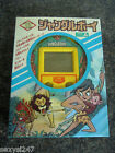 JUNGLE BOY VINTAGE BOXED EPOCH HANDHELD LCD GAME 1980's V RARE COMPLETE