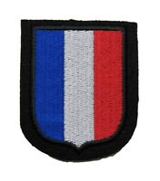GERMAN ARMY FRANCE/FRENCH VOLUNTEER BADGE - WW2 REPRO