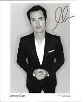 COMEDIAN - JIMMY CARR personally signed 10x8