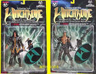 Witchblade Nottingham Kenneth Irons Action Figure Set of 2 New 1998