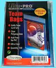 Ultra Pro TEAM SET BAGS 1 Pack Resealable Strip NEW 100 card sleeve protector