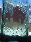 antique soda H.R.&R.STONE Carbondale,PA WHITTLE glass-C