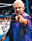 BOBBY THE BRAIN HEENAN SIGNED WWF WWE 8X10 PHOTO MANAGING AT RINGSIDE WITH PROOF