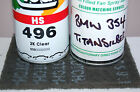 BMW 354 Titan Silver Aerosol spray paint with Lacquer and free scotch pad