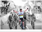 MARK CAVENDISH SIGNED AUTOGRAPH PHOTO CYCLING MENS ROAD RACE CHAMPION POSTER