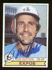 Tom Hutton #673 signed autograph auto 1979 Topps Baseball Trading Card
