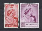 ST. VINCENT 1948 Silver Wedding VF MH