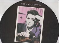 """Paul McCartney """"No More Lonely Nights"""" 12"""" picture disc"""