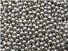 300 x 4mm Antique Silver Smooth Spacer Beads Craft Findings Beads O34