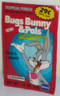 WARNER BROTHERS LOONEY TUNES BUGS BUNNY & PALS SEALED DRINK MIX PACKET 1985