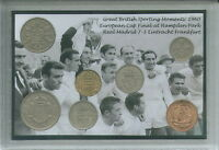Real Madrid FC Vintage European Cup Final Winners Di Stefano Coin Gift Set 1960
